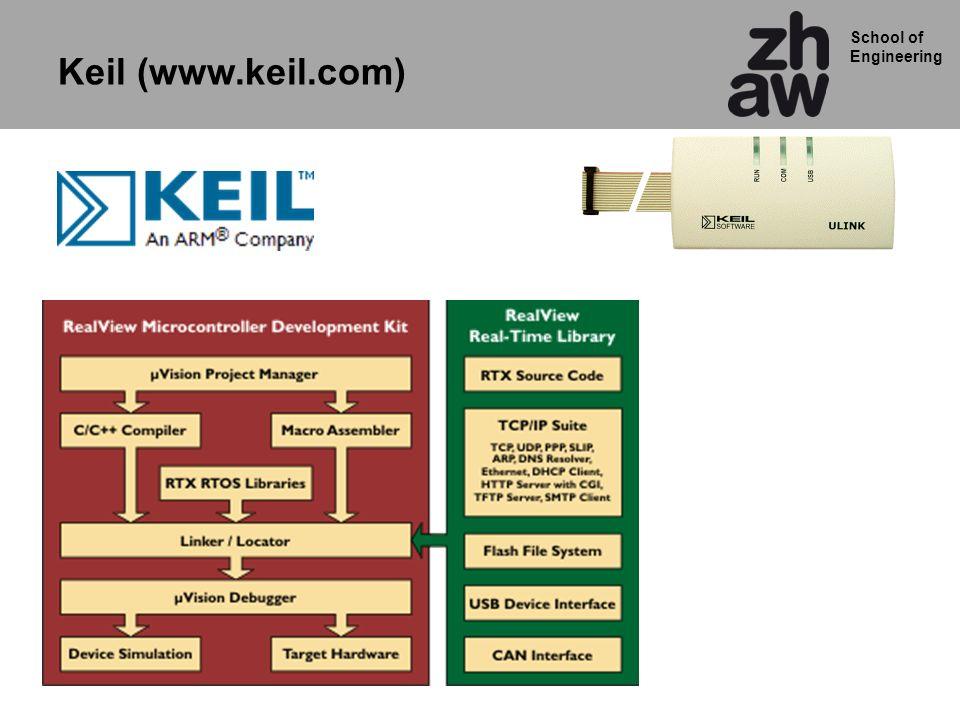 School of Engineering Keil (www.keil.com)