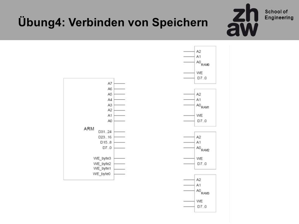 School of Engineering Übung4: Verbinden von Speichern