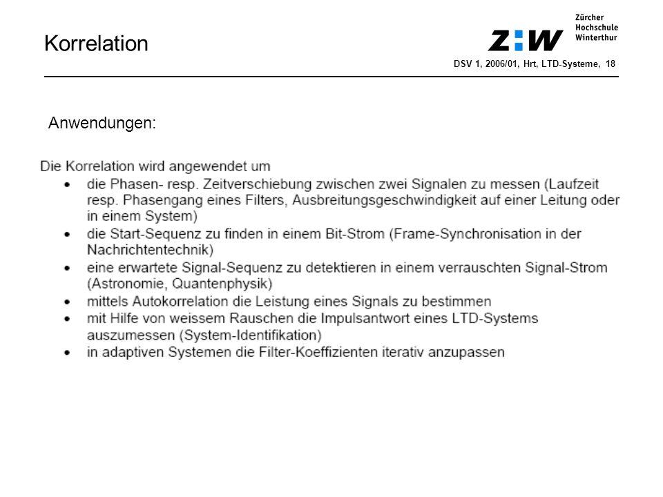 Korrelation DSV 1, 2006/01, Hrt, LTD-Systeme, 19