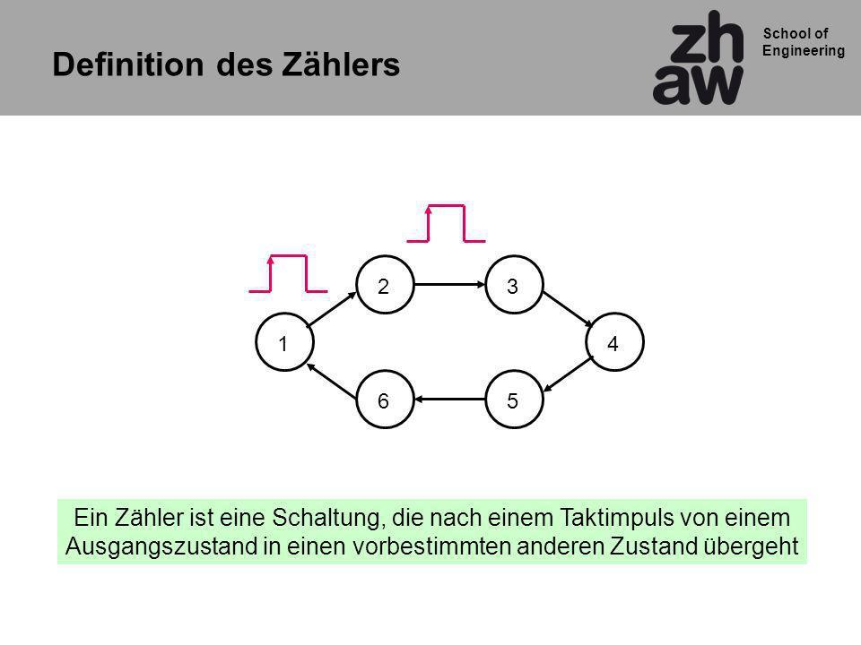 School of Engineering Übung1 RTL Diagram vom Code zeichnen Mit getrennten Prozessen umschreiben Synchronen Reset einfügen