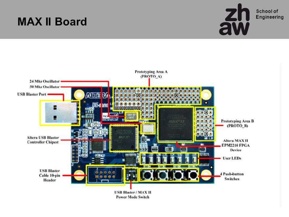 School of Engineering MAX II Board