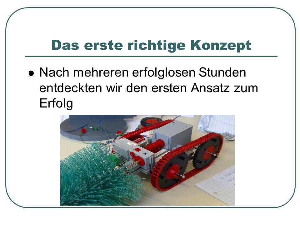 Der Antrieb 2 Motoren: Graupner Speed 400 (7,2V) Separater Kettenantrieb mit je einem Motor