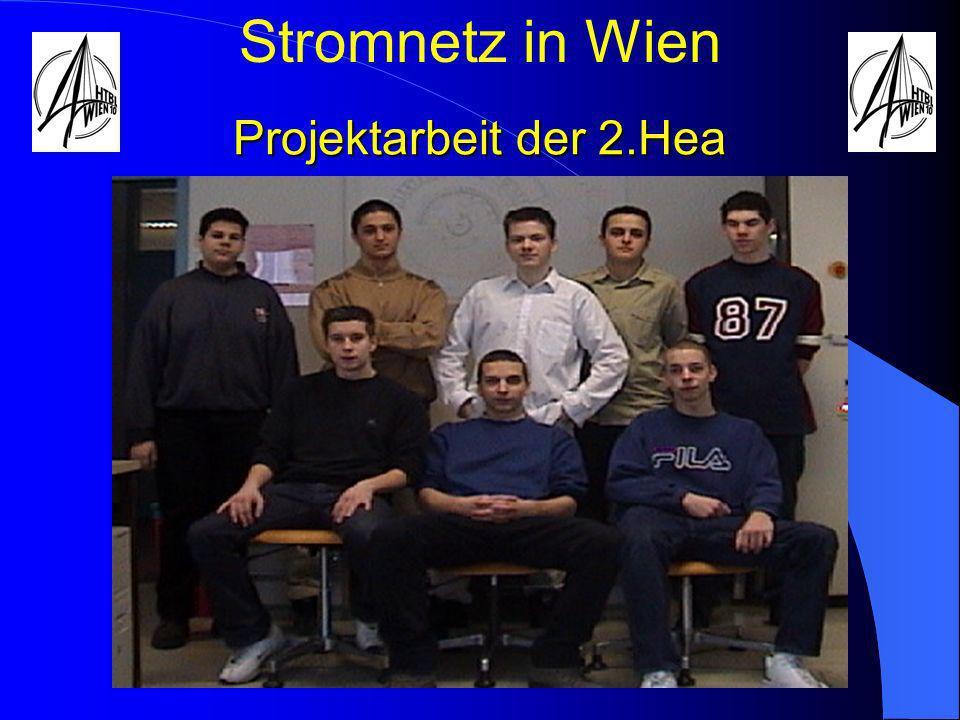 Projektarbeit der 2.Hea Stromnetz in Wien