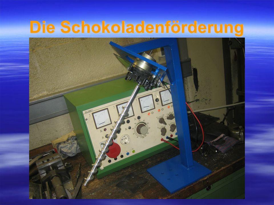 Technische Umsetzung Beförderung mittels einer Archimedischen Schraube Beförderung mittels einer Archimedischen Schraube Gleichmäßige Verteilung mit Hilfe einer Rampe Gleichmäßige Verteilung mit Hilfe einer Rampe