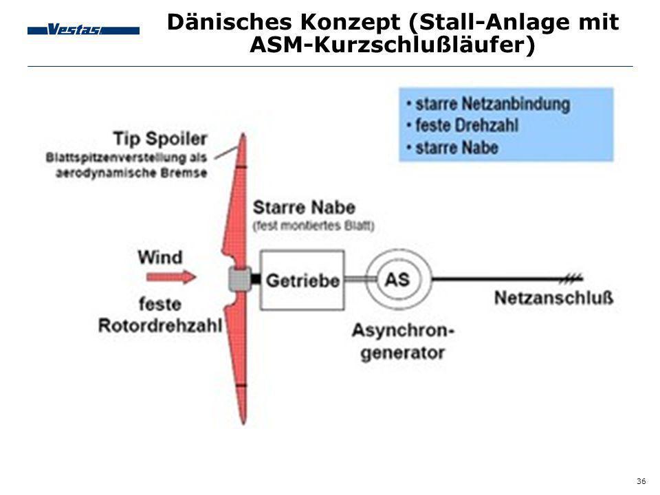 36 Dänisches Konzept (Stall-Anlage mit ASM-Kurzschlußläufer)