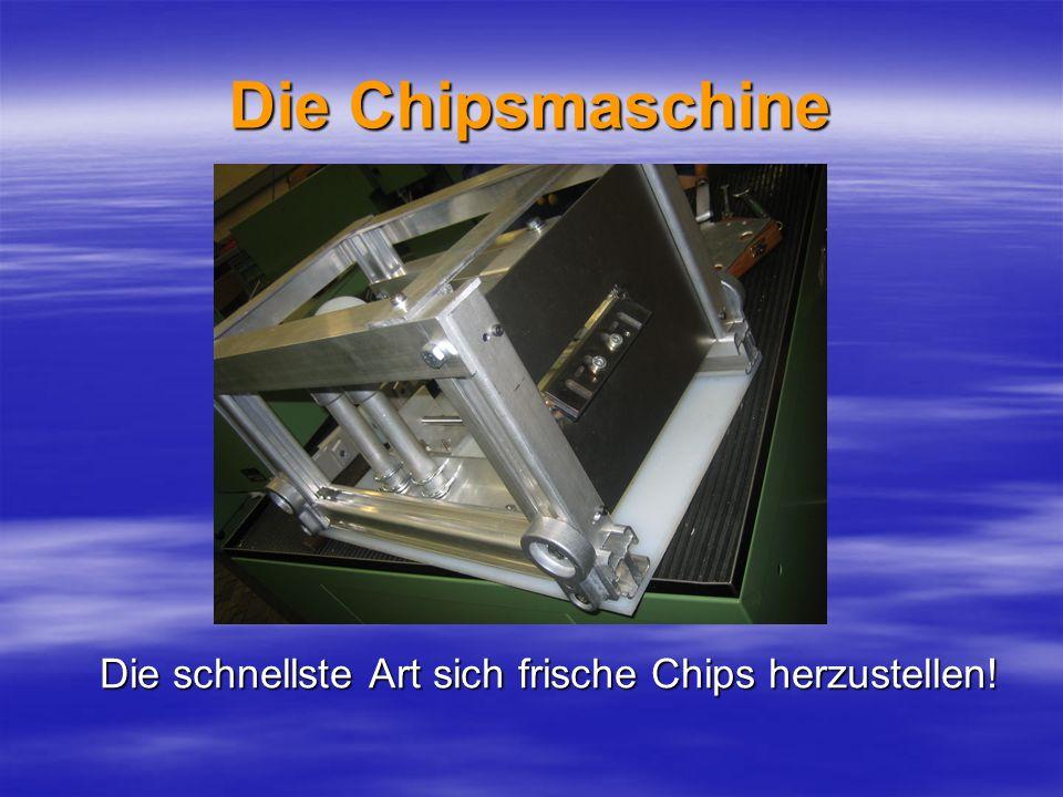 Die Chipsmaschine Die schnellste Art sich frische Chips herzustellen!