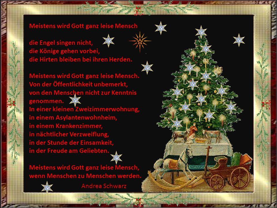 Wir wünschen euch allen frohe, gesegnete Weihnachtstage Ruedi und Margrit