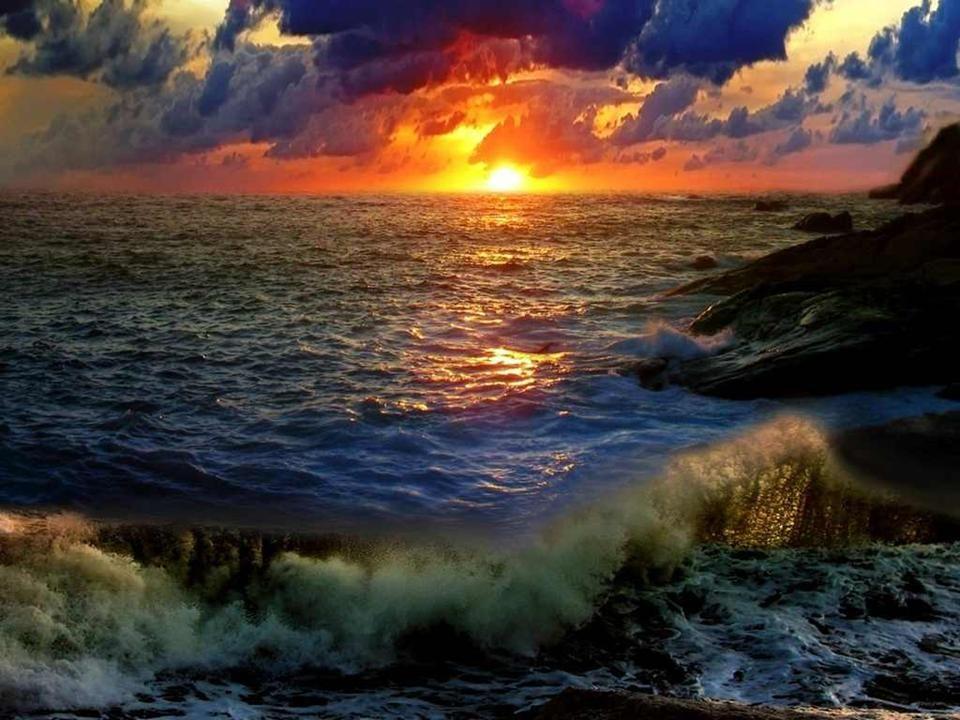 Du bist schön, weil du ungeheure Tiefen in dir ausmisst und weil du Leuchtkraft besitzt.