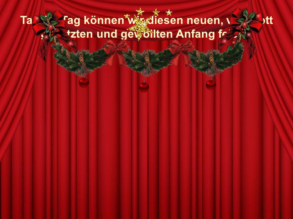 Weihnachten löst in uns allen die Sehnsucht nach einer menschlicheren Welt aus, nach einer Welt, in der die Liebe stärker ist als jede Feindseligkeit.