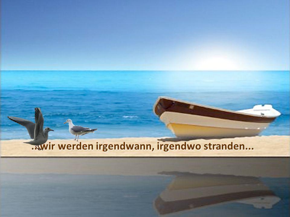 ... unser Leben ist wie ein Ozean, wir haben zu kämpfen, mit kleinen und grösseren Wellen...