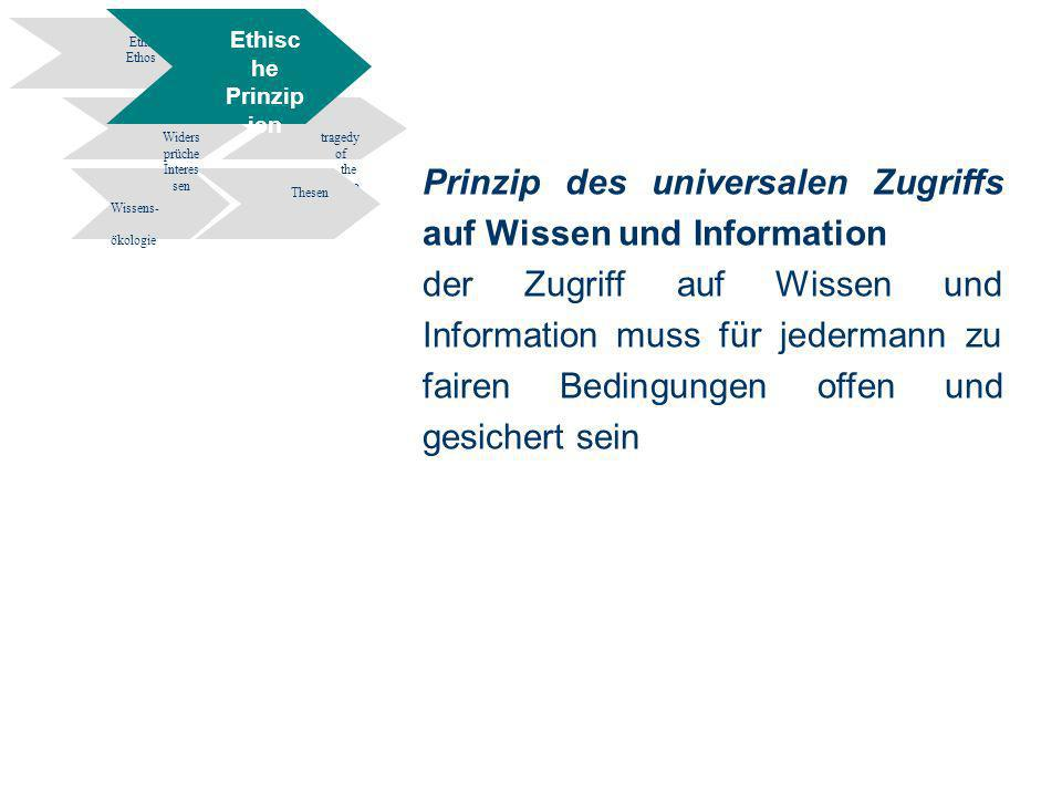 38 Information Engineering - Department of Computer and Information Science University of Constance Informationsethik- Wissen und Information in elekt
