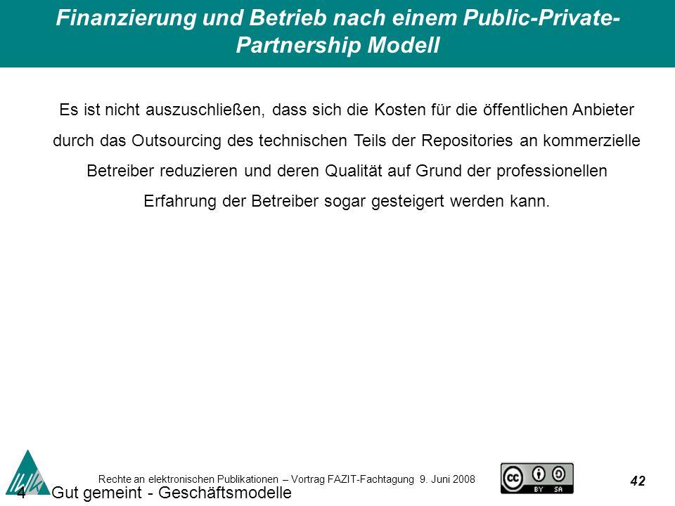 42 Rechte an elektronischen Publikationen – Vortrag FAZIT-Fachtagung 9.
