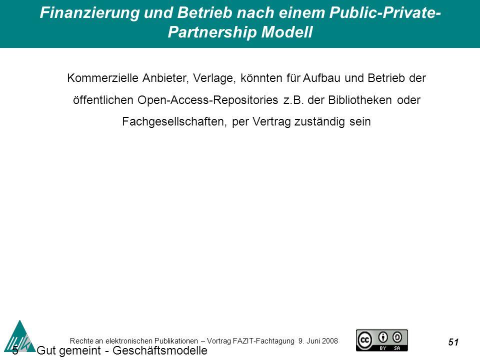 51 Rechte an elektronischen Publikationen – Vortrag FAZIT-Fachtagung 9.