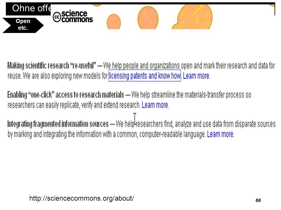67 Ohne offenes Wissen keine informationelle Selbstbestimmung Open befördern http://www.immi.is/?l=en&p=FAQ