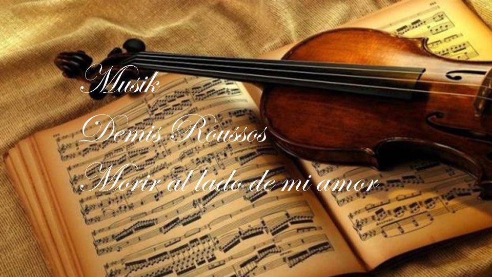 Musik Demis Roussos Morir al lado de mi amor