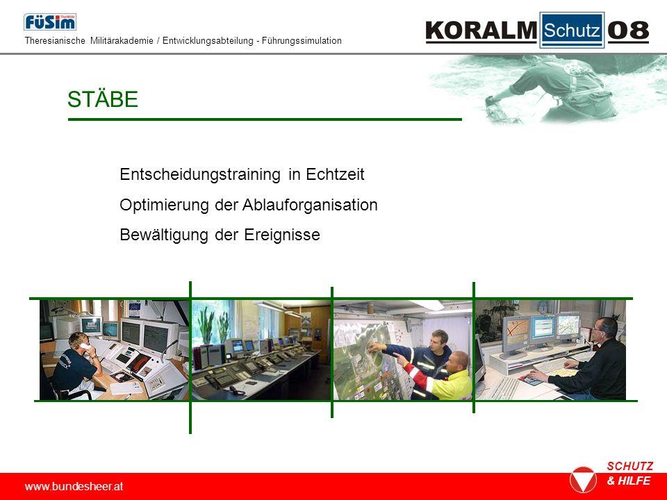 www.bundesheer.at SCHUTZ & HILFE ABLAUF 1.Befehl2.