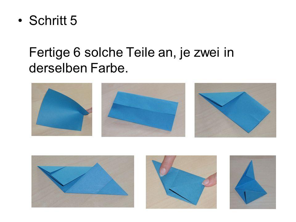 Schritt 6 Füge die Teile entsprechend der Abbildungen zusammen.