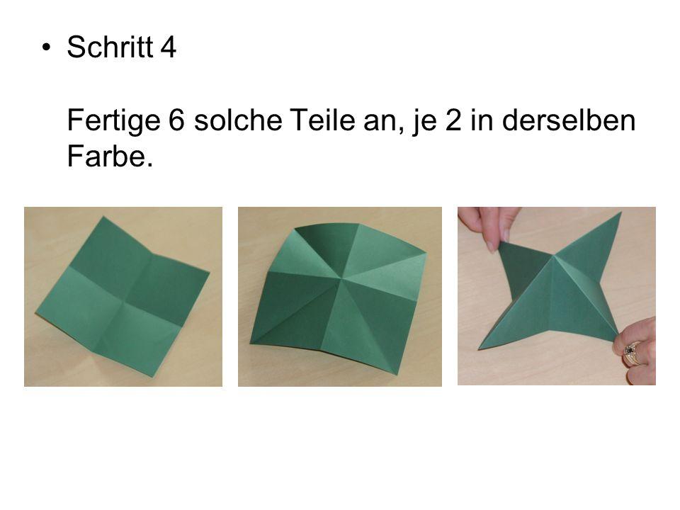 Schritt 5 Füge die Teile entsprechend der Abbildungen zusammen.