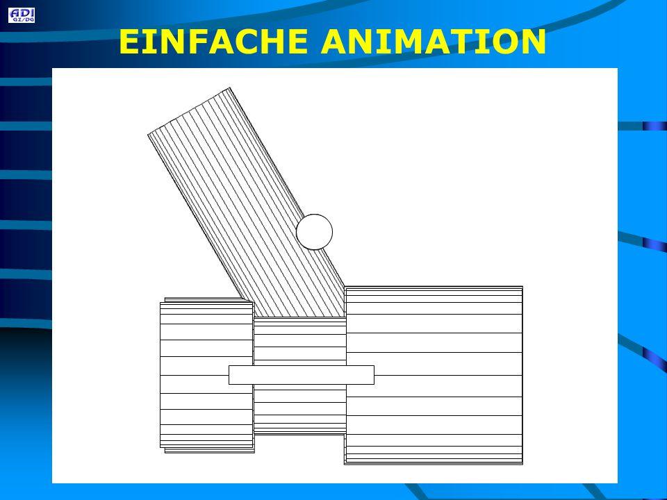 EINFACHE ANIMATION