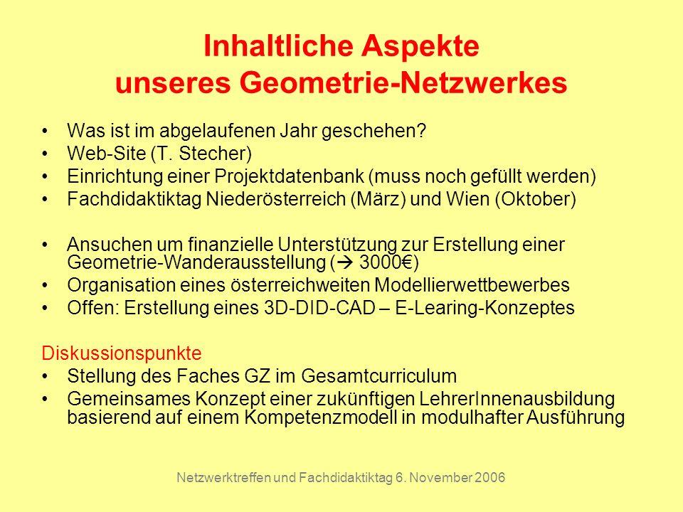 Netzwerktreffen und Fachdidaktiktag 6.