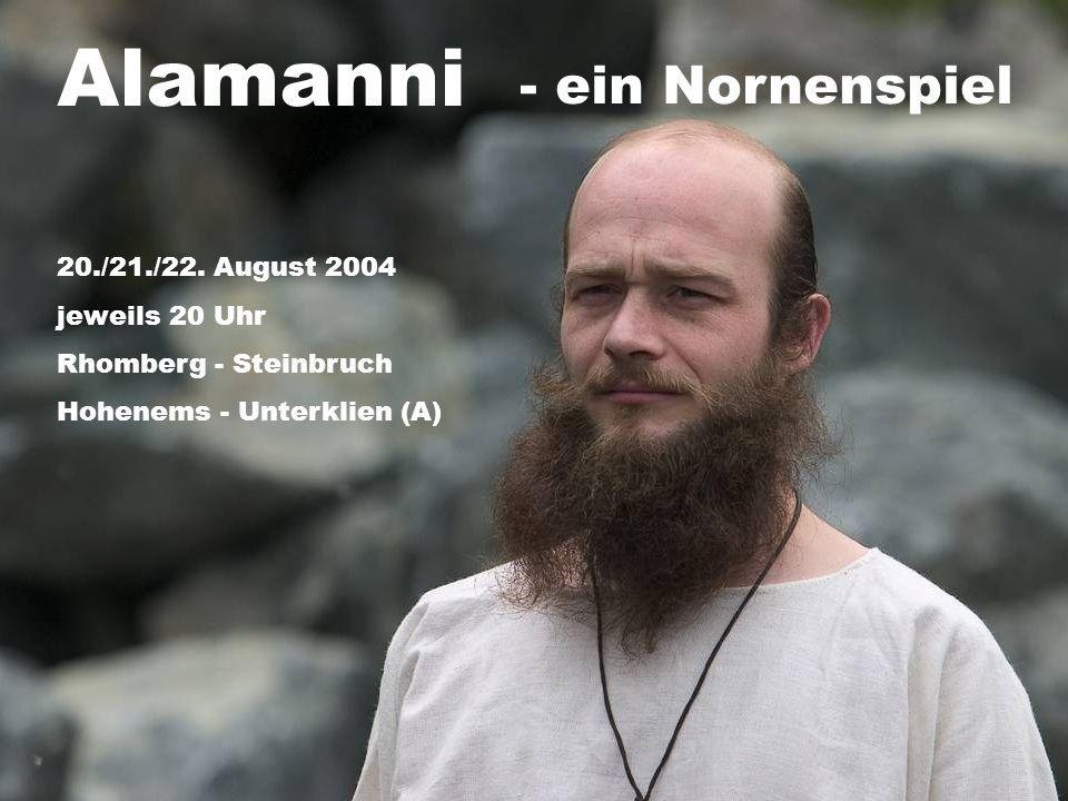 Alamanni - ein Nornenspiel 20./21./22.
