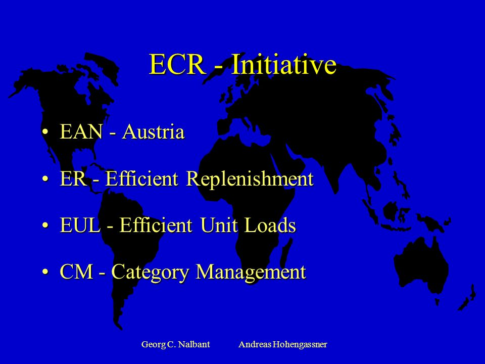 Georg C. NalbantAndreas Hohengassner Ebenen der sektorialen Logistik Inventory control Stock monitoring Inventory monitoring Stock Inventory monitorin
