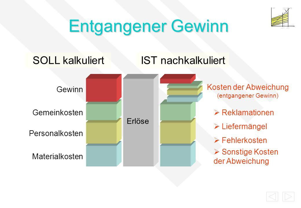 +/- Ergebnis IST-WerteSOLL-Vorgaben Q-Controlling Arbeitsprozesse Korrektur-/ Vorbeugemaßnahmen neue Zielvorgaben -= Management- Review Was haben wir erreicht.