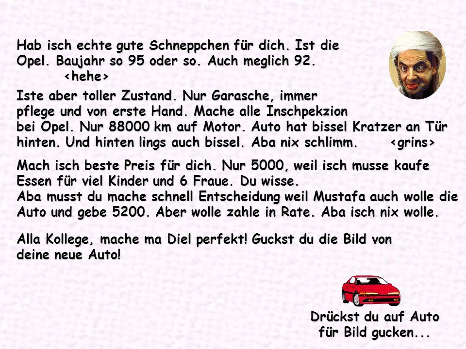 Guckst du Opel...