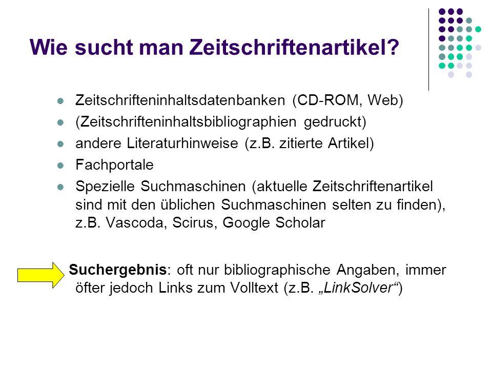 Wie kommt man zum Buch ? Kataloge der UB Salzburg Literatur vor 1990: z.T. schon Online-Katalog, sonst Zettelkataloge Literatur nach 1990: Online-Kata