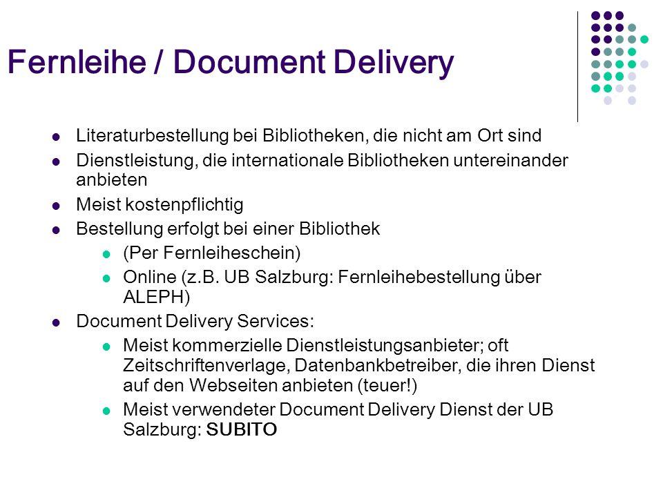 Elektronische Zeitschriftenbibliothek (EZB) Verzeichnis von elektronischen Zeitschriften (nur Titelsuche, Suche nach Inhalten – noch – nicht möglich!)