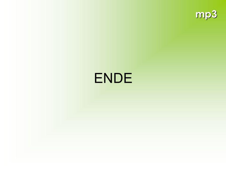 mp3 ENDE