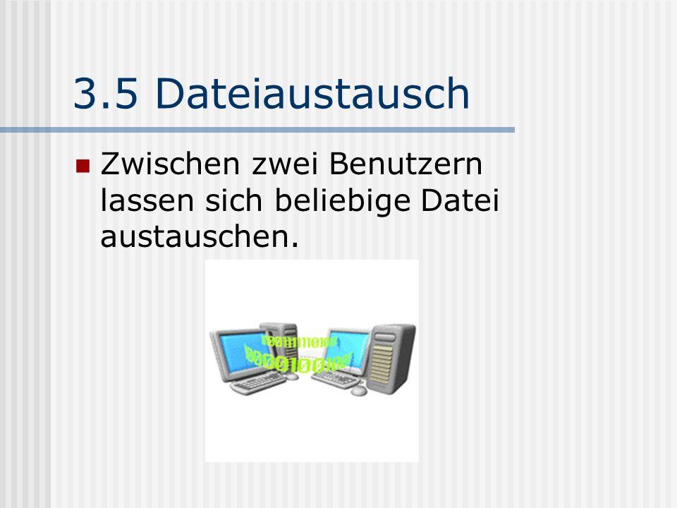 3.4 Chat-Raum Ein Chat-Raum bietet die Möglichkeit, mit mehr als 2 Personen gleichzeitig mittels Text Nachrichten zu kommunizieren.