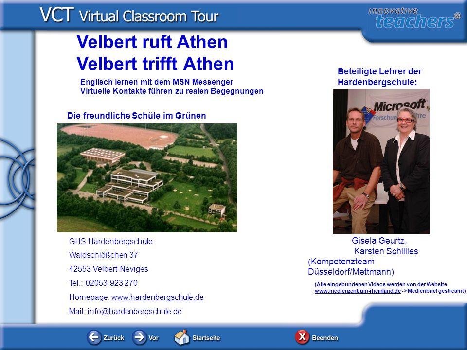 GHS Hardenbergschule Waldschlößchen 37 42553 Velbert-Neviges Tel.: 02053-923 270 Homepage: www.hardenbergschule.dewww.hardenbergschule.de Mail: info@h