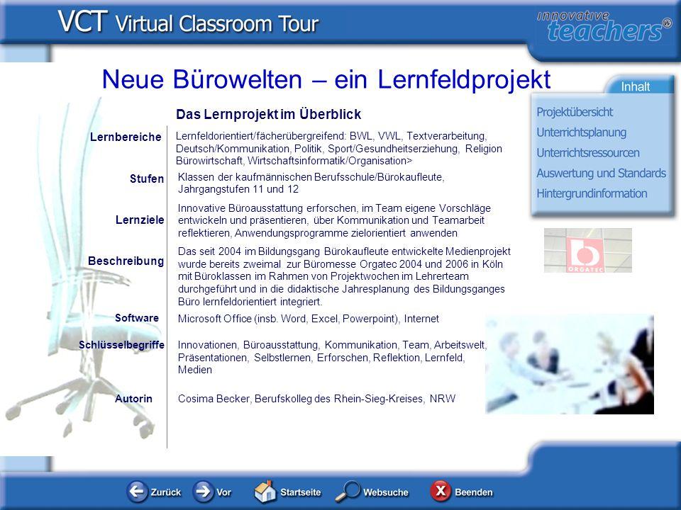 Autorin Cosima Becker, Berufskolleg des Rhein-Sieg-Kreises, NRW Microsoft Office (insb. Word, Excel, Powerpoint), Internet Software Lernbereiche Lernf