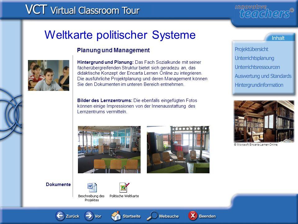Planung und Management Hintergrund und Planung: Das Fach Sozialkunde mit seiner fächerübergreifenden Struktur bietet sich geradezu an, das didaktische