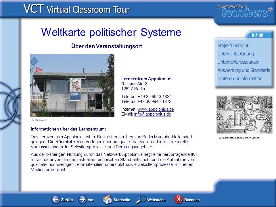 Über den Veranstaltungsort Informationen über das Lernzentrum: Das Lernzentrum Appolonius ist im Baukasten inmitten von Berlin Marzahn-Hellersdorf gel
