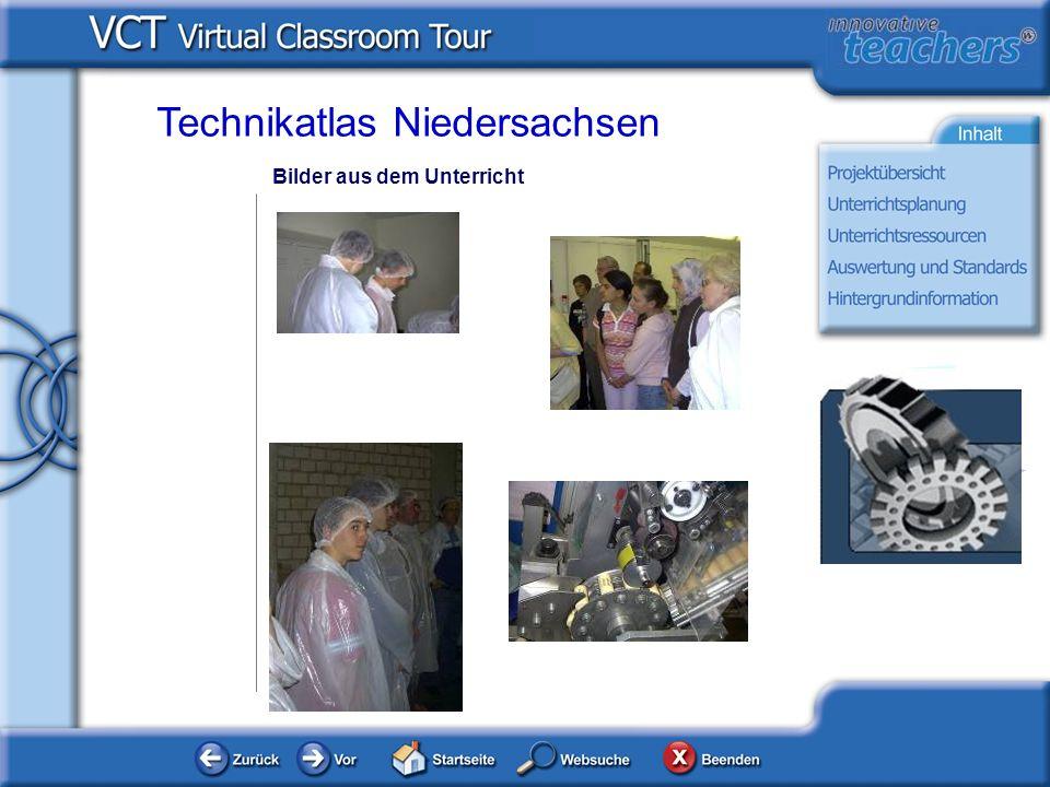 Bilder aus dem Unterricht Technikatlas Niedersachsen