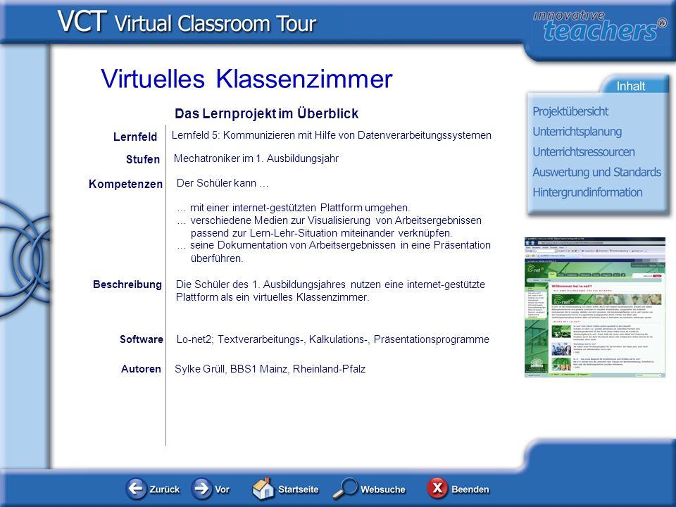 AutorenSylke Grüll, BBS1 Mainz, Rheinland-Pfalz Der Schüler kann … … mit einer internet-gestützten Plattform umgehen. … verschiedene Medien zur Visual