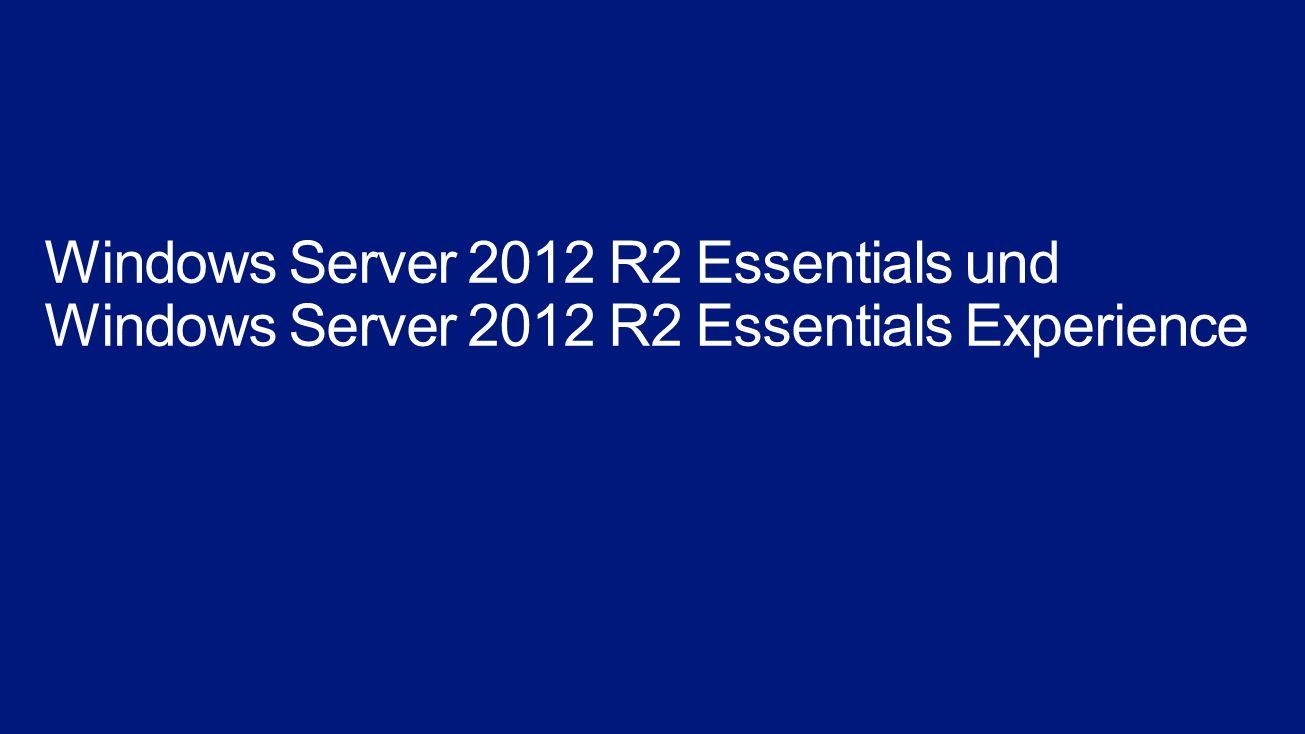 Assistenten unterstützen bei der Serverinstallation Assistenten reagieren auf unterschiedliche Konfigurationen Erweiterte Assistenten für die Erstkonfiguration Dashboard mit erweiterten Assistenten für die tägliche Administration Integration von Office 365, Exchange oder Hosted Exchange