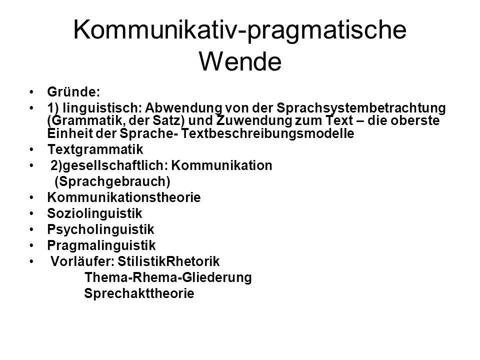 2.Textbegriff, Kriterien der Textualität Text – lat.
