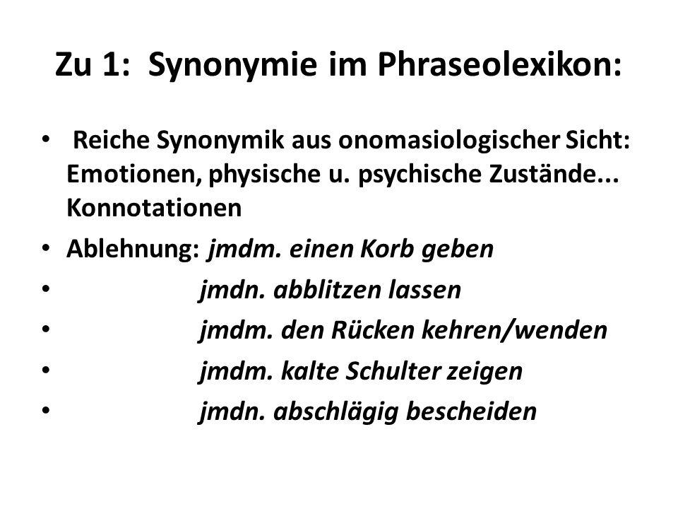 Phraseologie in Texten: Modifikationen Ich bin von Kopf bis Fuß auf Liebe eingestellt.