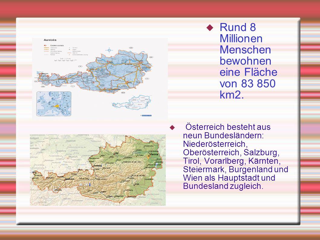 Österreich ist ein Binnenstaat. Er grenzt im Nordwesten an Deutschland, im Nordosten an die Tschechische und Slowakische Republik, im Osten an Ungarn,