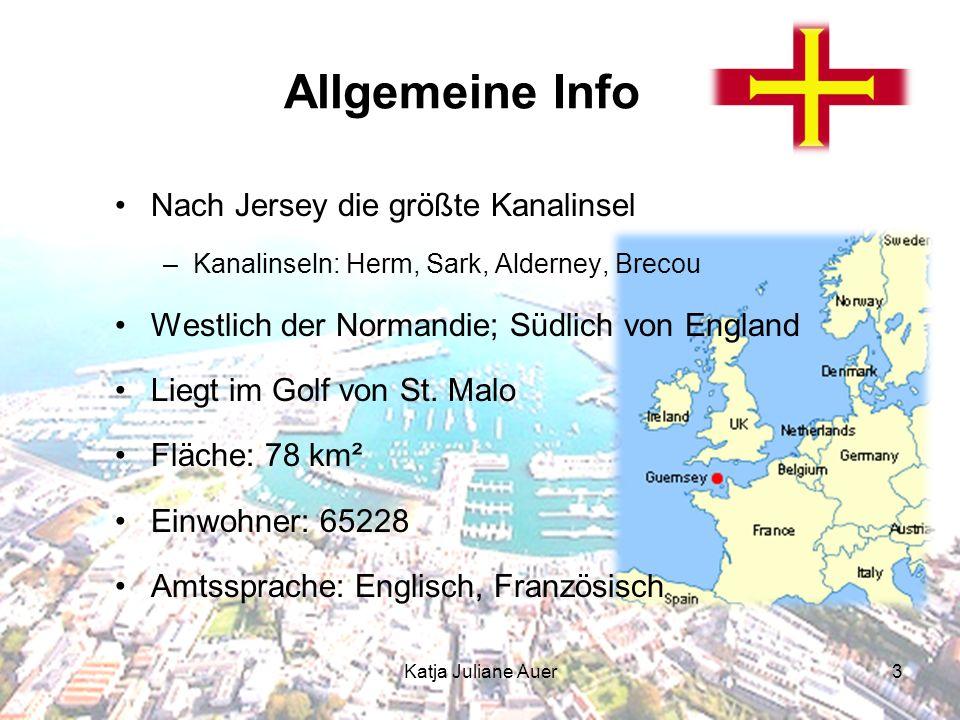 3 Allgemeine Info Nach Jersey die größte Kanalinsel –Kanalinseln: Herm, Sark, Alderney, Brecou Westlich der Normandie; Südlich von England Liegt im Golf von St.