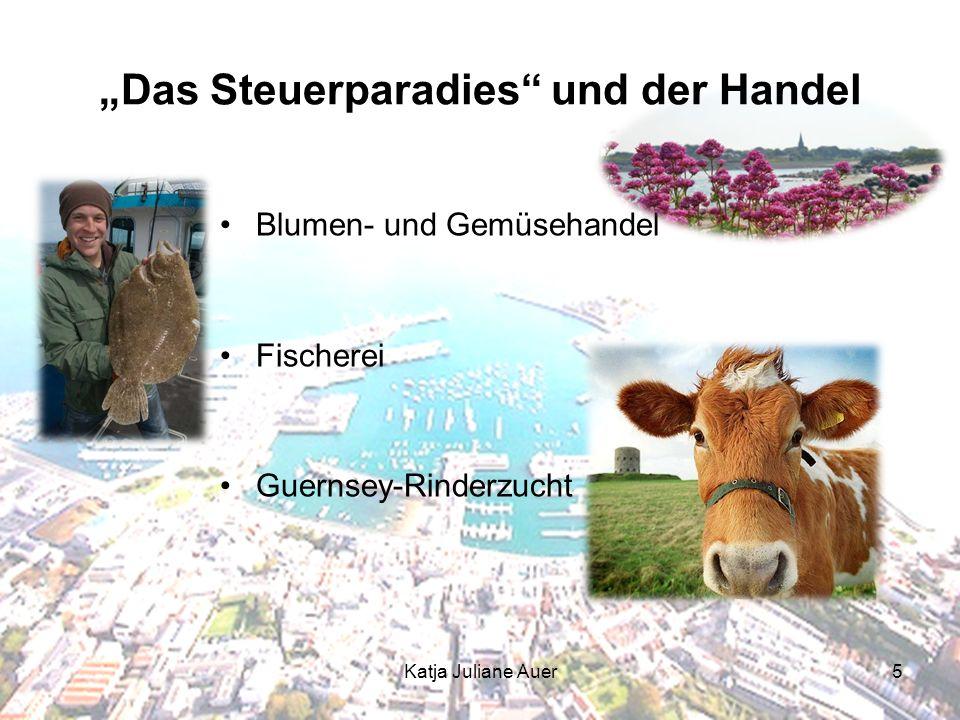 Blumen- und Gemüsehandel Fischerei Guernsey-Rinderzucht Katja Juliane Auer5 Das Steuerparadies und der Handel