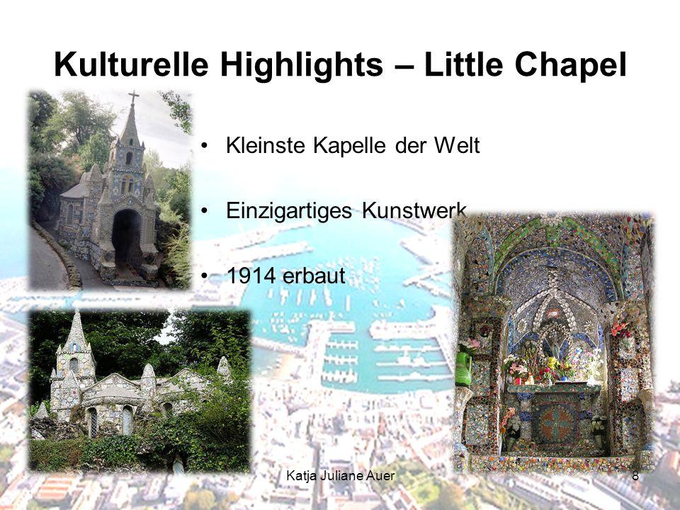 Katja Juliane Auer8 Kulturelle Highlights – Little Chapel Kleinste Kapelle der Welt Einzigartiges Kunstwerk 1914 erbaut