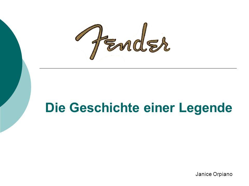 Die Geschichte einer Legende Janice Orpiano