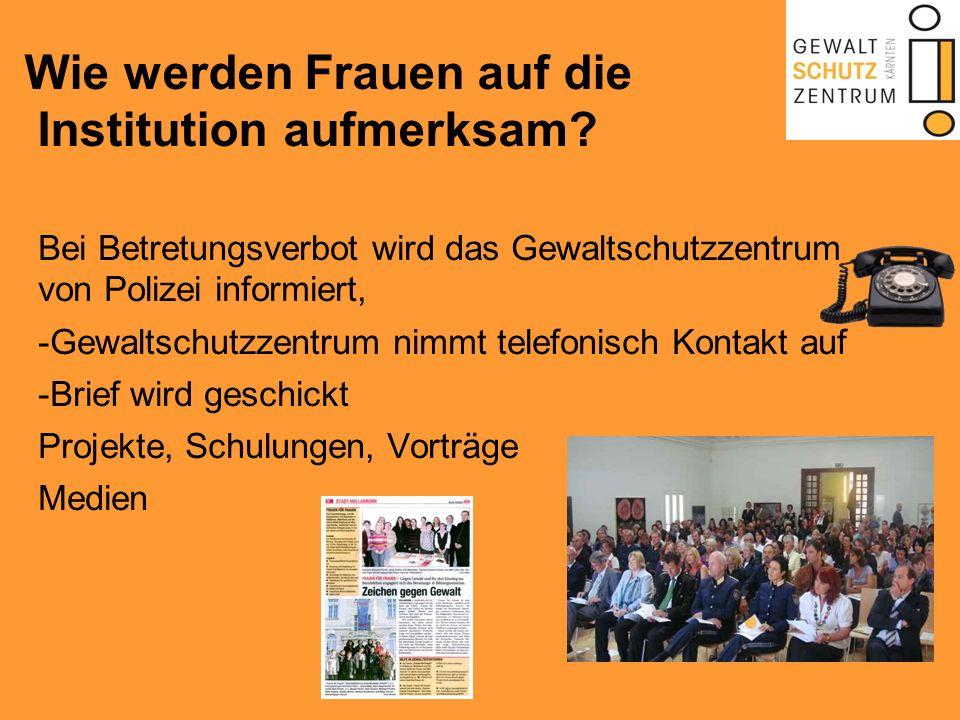 Zusammenarbeit mit anderen Institutionen Polizei Gericht Jugendwohlfahrt Andere Beratungsstellen Frauenhaus Wichtigkeit von Netzwerken und Kooperationen!!!