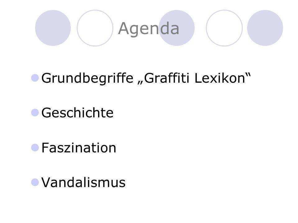 Graffiti Lexikon Writer = Sprüher, Maler