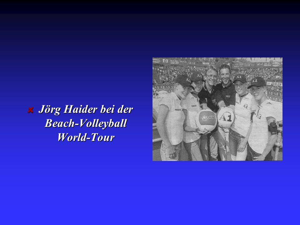 Jörg Haider bei der Beach-Volleyball World-Tour