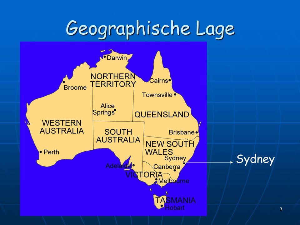 3 Geographische Lage Sydney